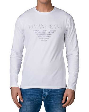 ARMANI JEANS MENS White Clothing / Tops S