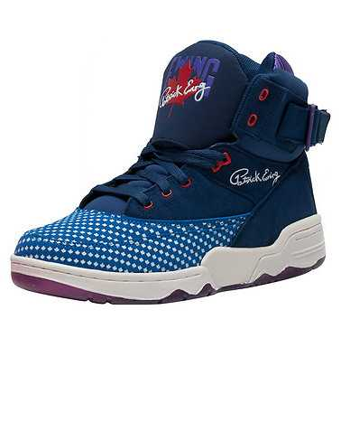 EWING ATHLETICS MENS Blue Footwear / Sneakers