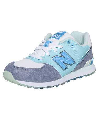 NEW BALANCE BOYS Blue Footwear / Sneakers 3