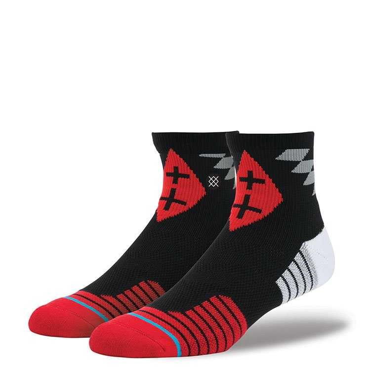 Stance Yucatan Qtr RED L/XL FUSION ATHLETIC Socks