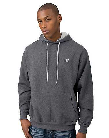 CHAMPION MENS Dark Grey Clothing / Hoodies