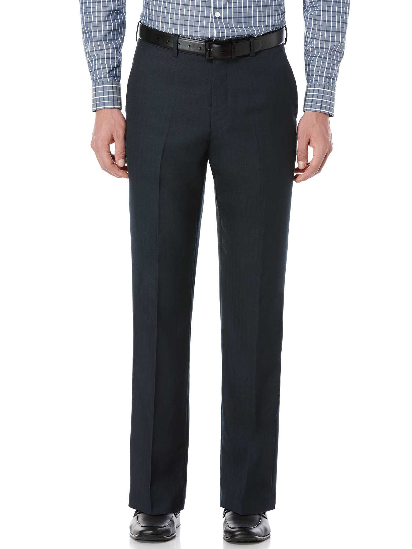 Perry Ellis Textured Stripe Dress Pant