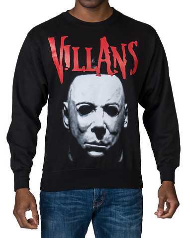 VILLANS MENS Black Clothing / Sweatshirts L