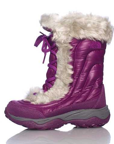 THE NORTH FACE GIRLS Purple Footwear / Boots