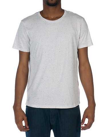 WESC MENS White Clothing / Tees and Polos S