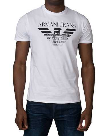 ARMANI JEANS MENS White Clothing / Tops M
