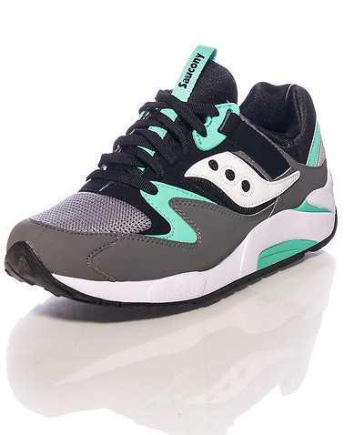 SAUCONY MENS Grey Footwear / Sneakers 10