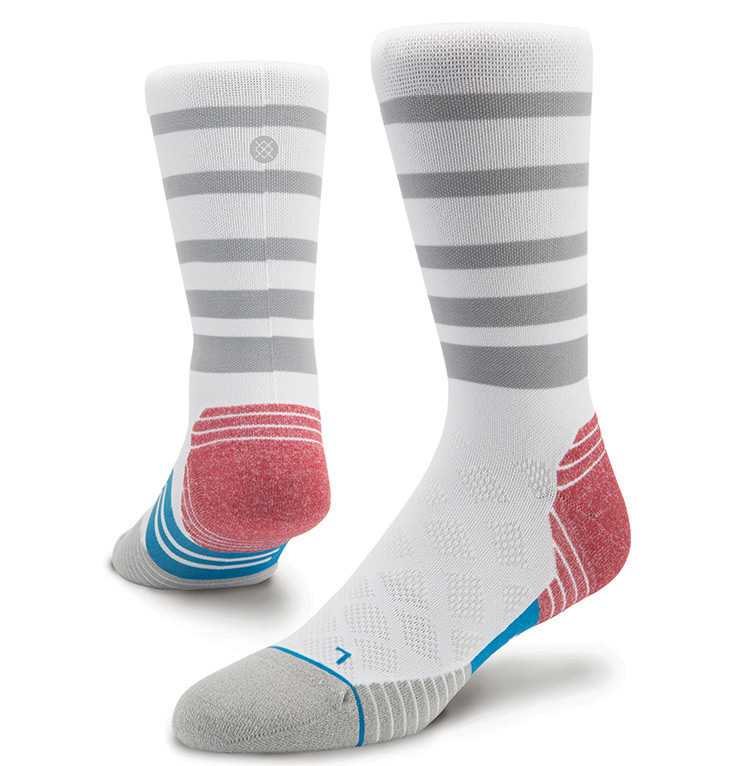 Stance Burnt Otc WHT XL FUSION RUN Socks