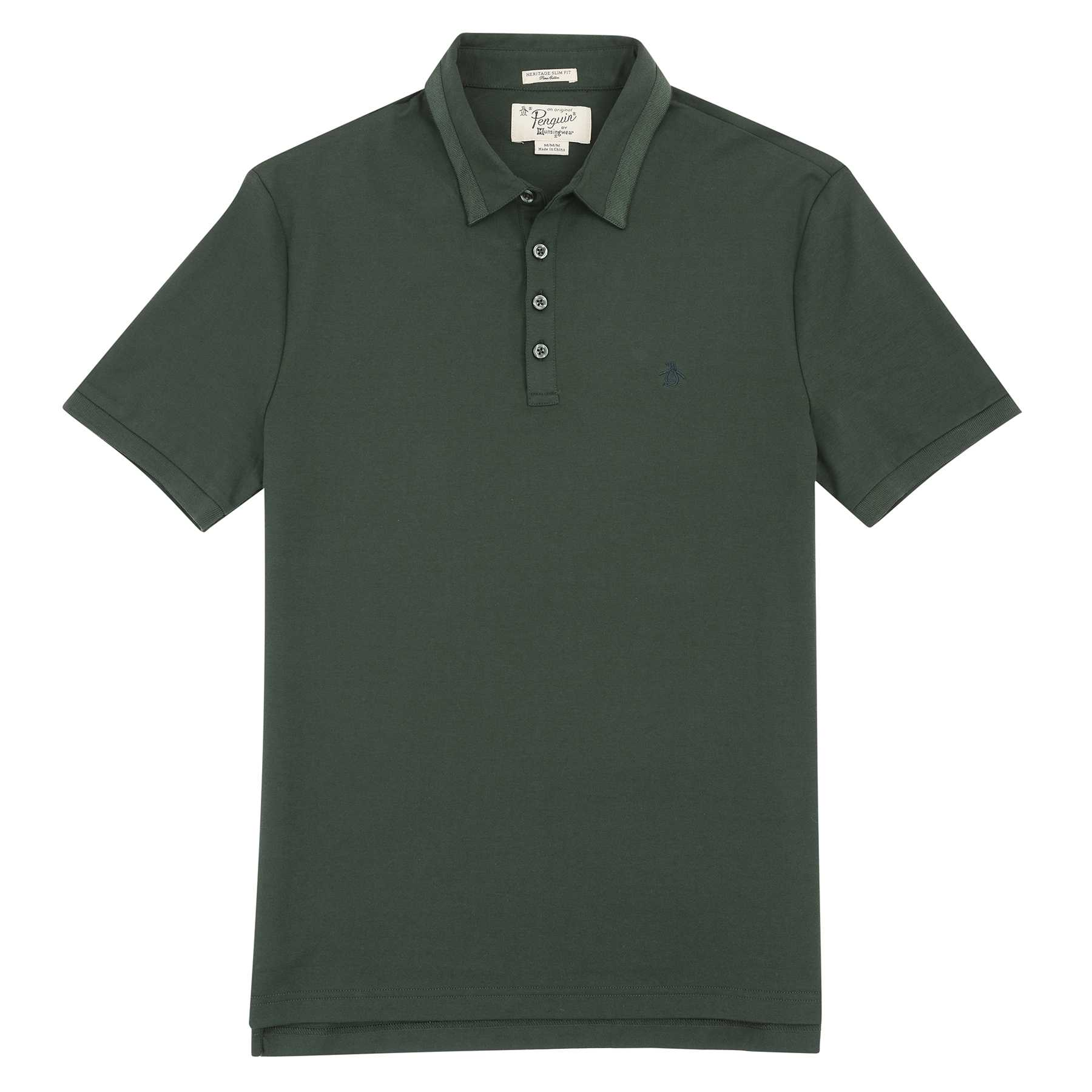Original Penguin GROSS GRAIN COLLAR POLO