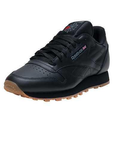 REEBOK MENS Black Footwear / Sneakers