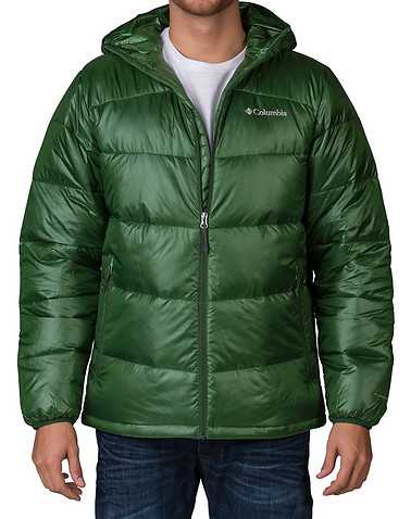 COLUMBIA MENS Green Clothing / Outerwear