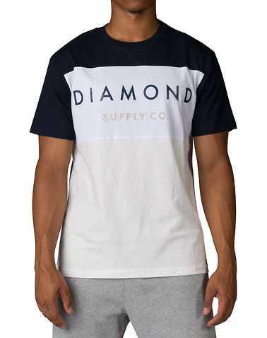 DIAMOND SUPPLY COMPANYENS Navy Clothing / Tops
