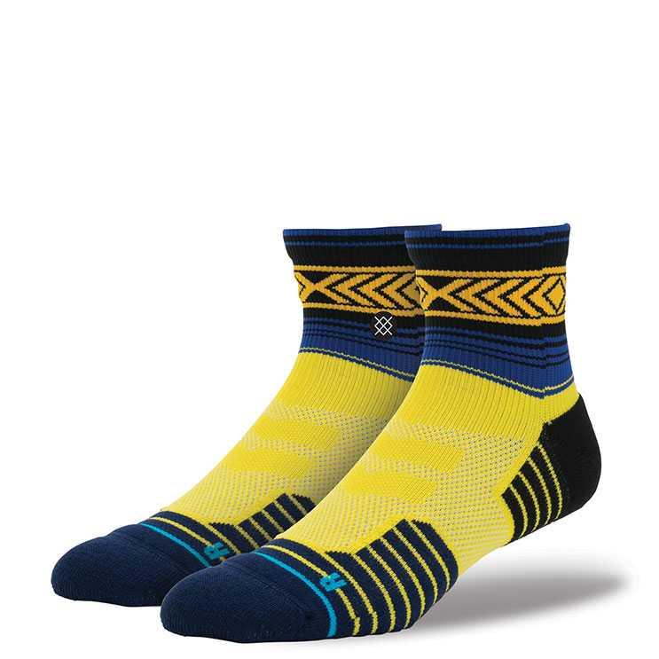 Stance Tenoch Qtr Fusion Athletic Socks