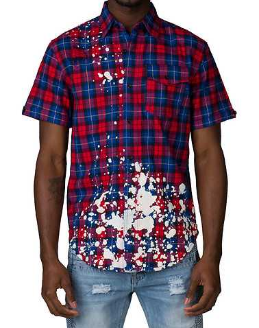 ALLSTON MENS Red Clothing / Button Down Shirts M