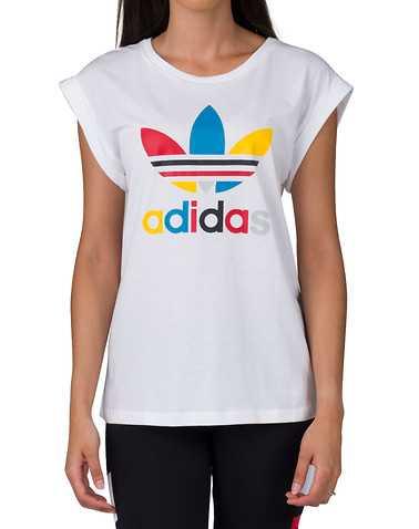 adidas WOMENS White Clothing / Tops