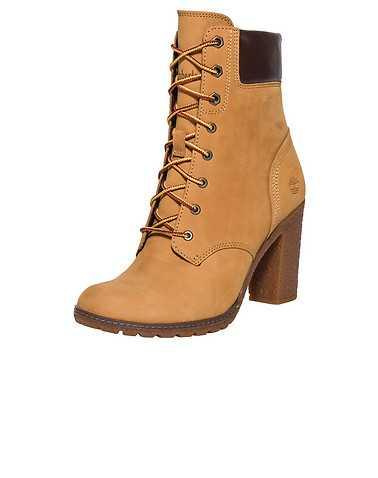 TIMBERLAND WOMENS Beige-Khaki Footwear / Boots 7.5