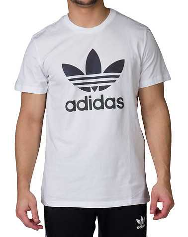adidas MENS White Clothing / Tops