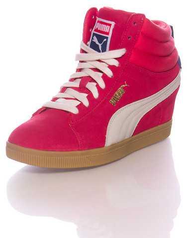 PUMA WOMENS Pink Footwear / Sneakers