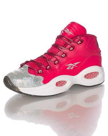 REEBOK GIRLS Red Footwear / Running