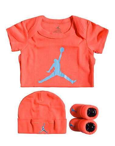JORDAN BOYS Orange Accessories / Onesies 0-6