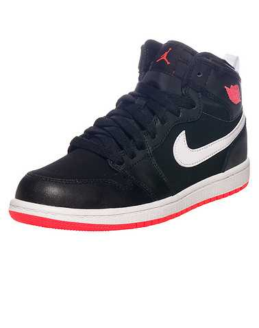 JORDAN GIRLS Black Footwear / Sneakers 2Y