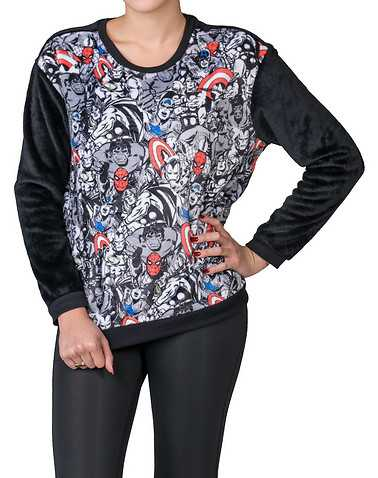 HYBRID WOMENS Black Clothing / Sweatshirts S