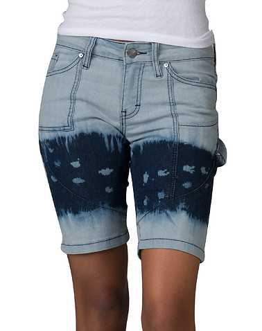 BLUE DESIRE WOMENS Blue Clothing / Denim Shorts