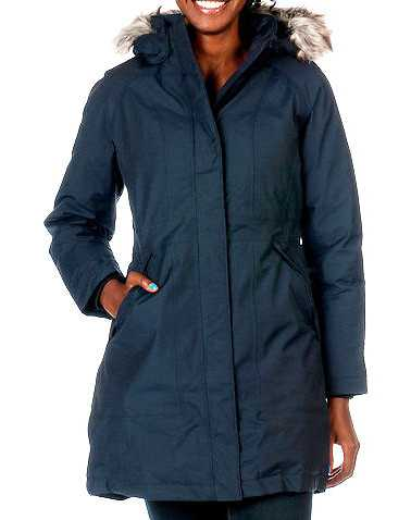 THE NORTH FACE WOMENS Navy Clothing / Heavy Jackets