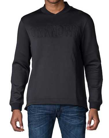 UNKNOWNENS Black Clothing / Sweatshirts