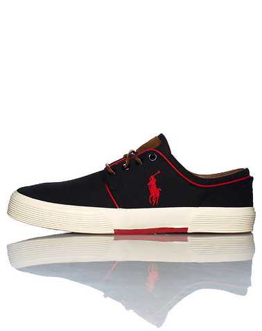 POLO FOOTWEAR MENS Black Footwear / Casual 13