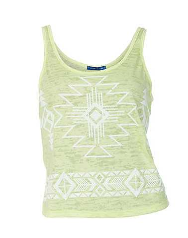 ESSENTIALS WOMENS Yellow Clothing / Tank Tops S
