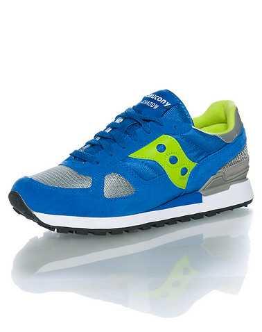 SAUCONY MENS Blue Footwear / Sneakers 10
