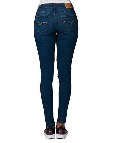 LEVIS WOMENS Dark Blue Clothing / Jeans