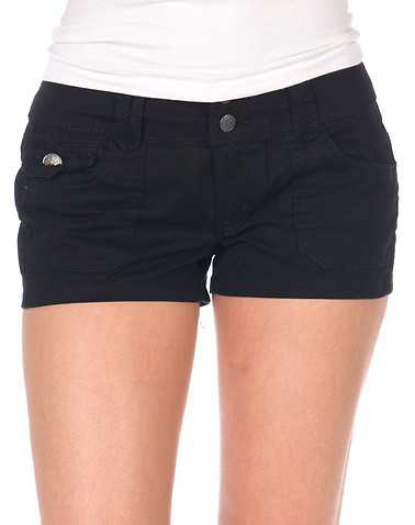 BOOM BOOM JEANS WOMENS Black Clothing / Casual Shorts 9