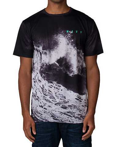 WAVY MENS Black Clothing / Tops S