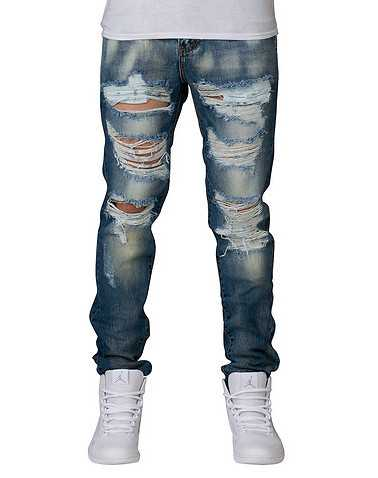 CRYSP MENS Blue Clothing / Jeans 38