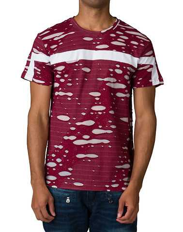 C'KEL MENS Burgundy Clothing / Tops