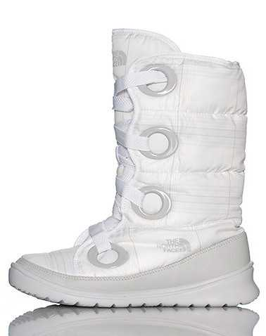 THE NORTH FACE WOMENS White Footwear / Boots 10