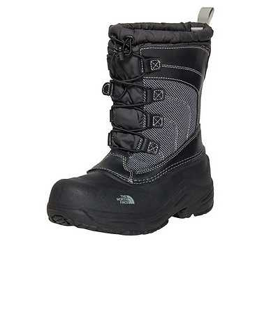 THE NORTH FACE BOYS Black Footwear / Boots 6