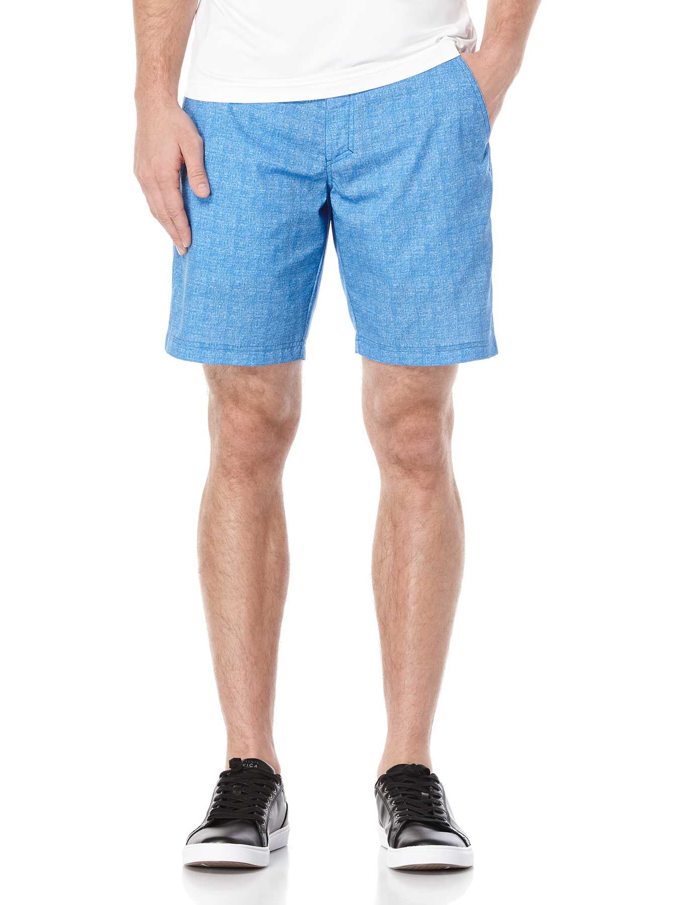 Perry Ellis Hybrid Heather Printed Short