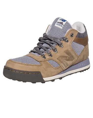 NEW BALANCE MENS Dark Beige Footwear / Sneakers