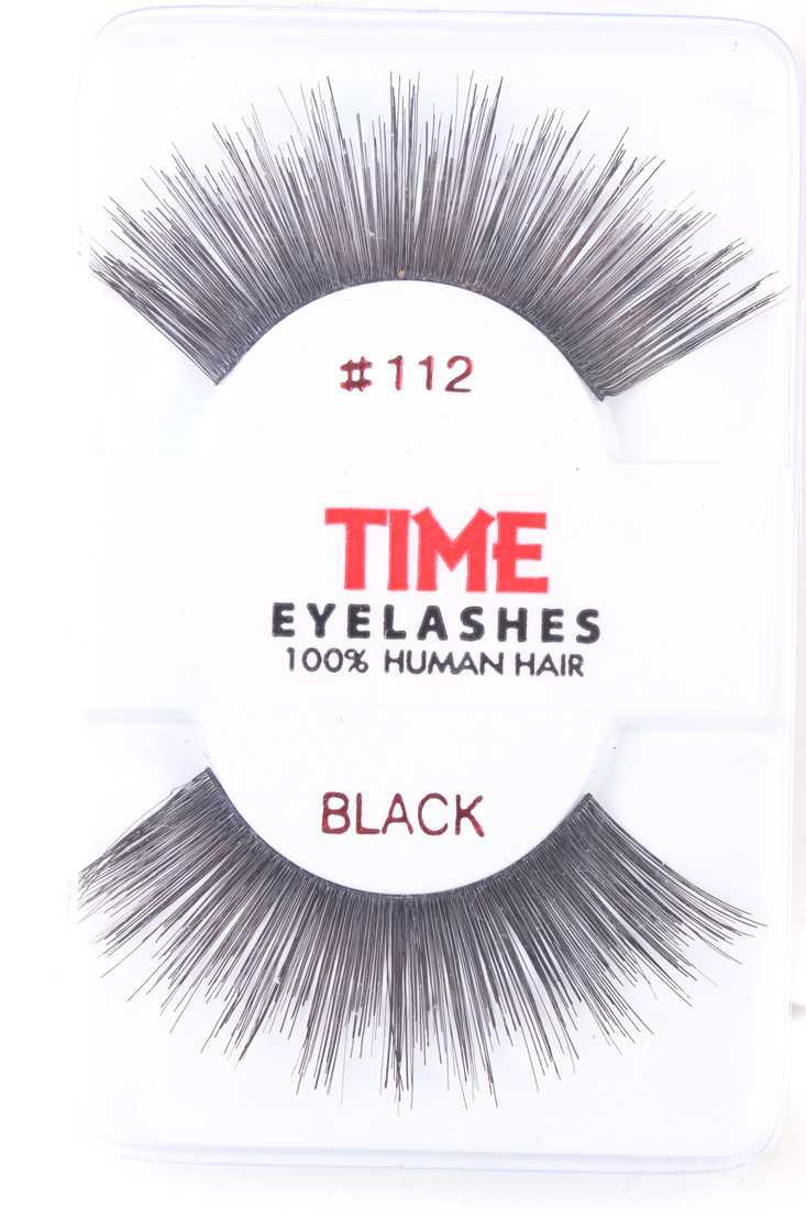 Black Thick Long Full Glamour Human Hair Eyelashes