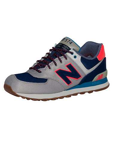 NEW BALANCE MENS Grey Footwear / Sneakers