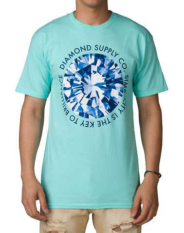 DIAMOND SUPPLY COMPANYENSedium Blue Clothing / Tops