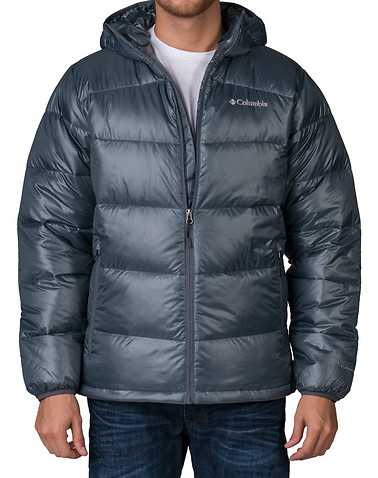 COLUMBIA MENS Grey Clothing / Outerwear