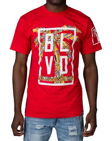 BLVD SUPPLY MENS Red Clothing / Tops XL