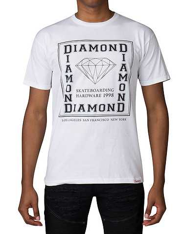 DIAMOND SUPPLY COMPANYENS White Clothing / Tops
