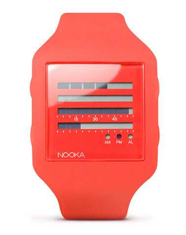 NOOKA MENS Red Accessories / Watches ONES