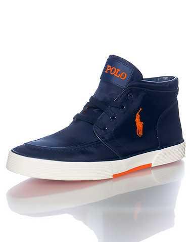 POLO FOOTWEAR MENS Navy Footwear / Casual 9