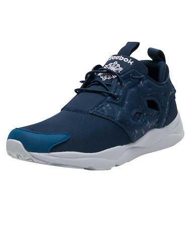 REEBOK MENS Navy Footwear / Sneakers
